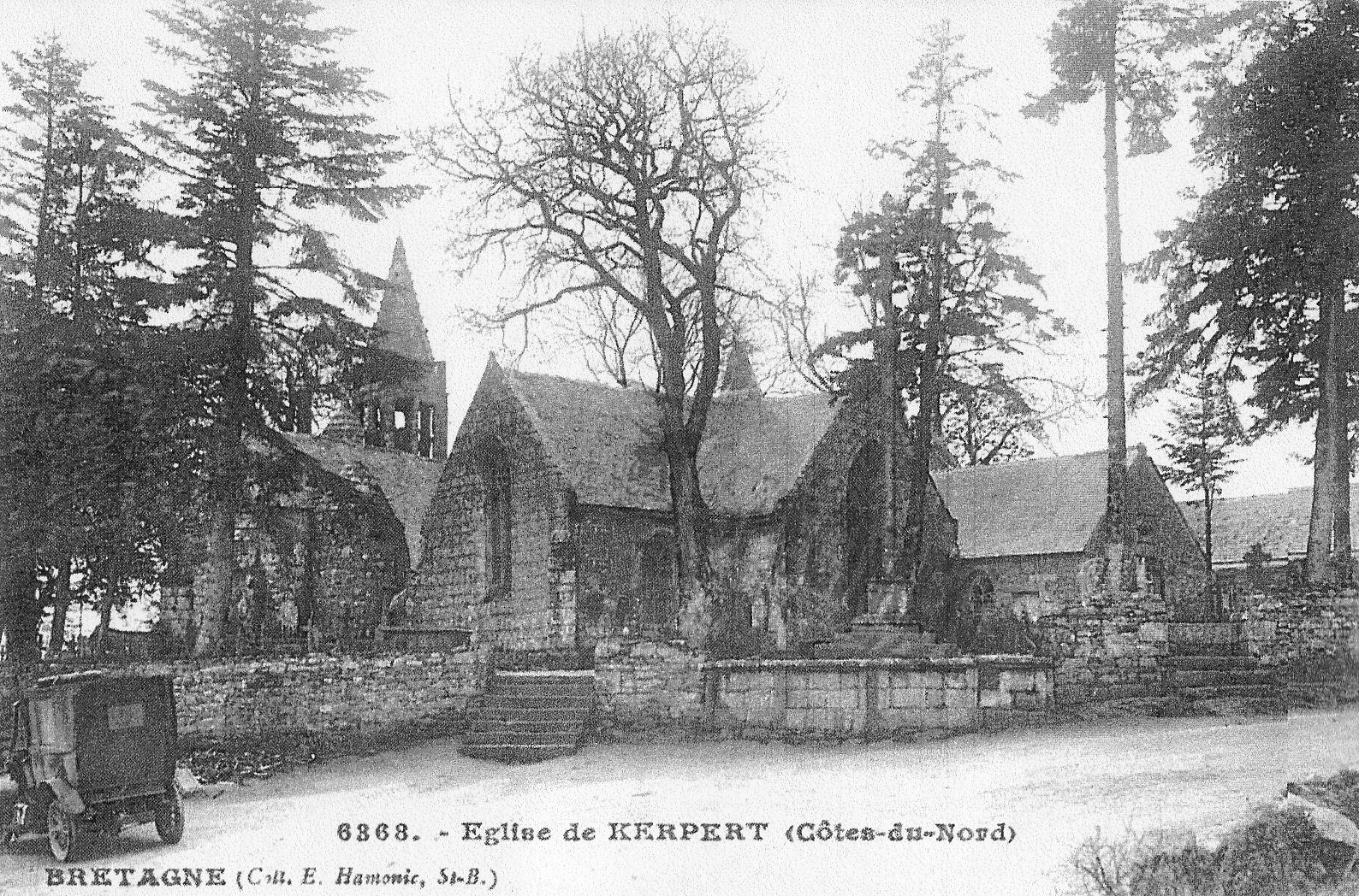 Kerpert, carte postale ancienne